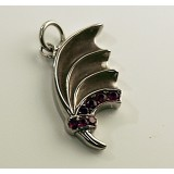 Dragon Wing with Purple Stones